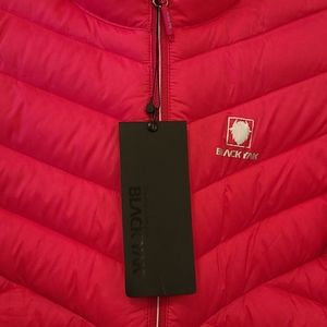 Blackyak winter  down jacket new hot pink adult💗